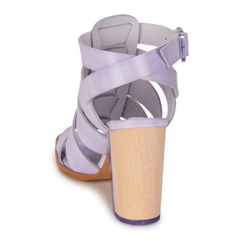 Consegna Gratuita Scarpe Sandali Donna 13230 Isabella Lavanda Miista 35LA4Rj