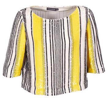 Abbigliamento Donna Top / Blusa Antik Batik ZABOU Giallo / Bianco / Nero