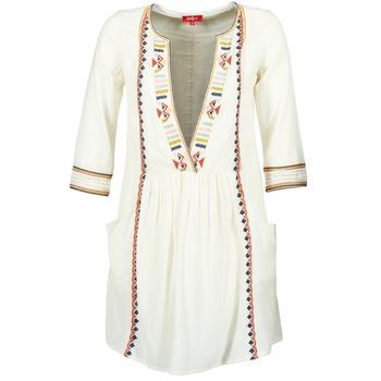 Abbigliamento Donna Abiti corti Derhy EMBOUCHURE Ecru