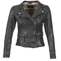 Abbigliamento Donna Giacca in cuoio / simil cuoio Oakwood 60861 Nero