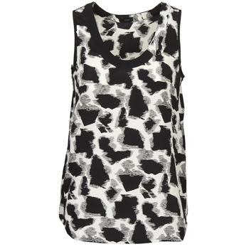 Abbigliamento Donna Top / T-shirt senza maniche Joseph DEBUTANTE Nero / Bianco / Grigio