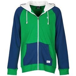 Abbigliamento Uomo Felpe Nixon ANCHOR Blu / Verde