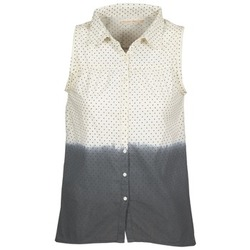 Abbigliamento Donna Camicie Teddy Smith CAMILLE Blu / Ecru