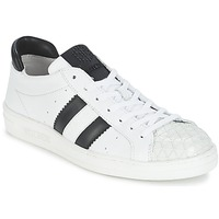 Scarpe Donna Sneakers basse Bikkembergs BOUNCE 594 LEATHER Bianco / Nero