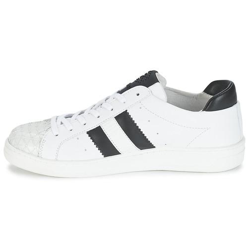 Bikkembergs Sneakers Bounce Consegna Basse BiancoNero Scarpe 9000 Donna 594 Gratuita Leather NOvm80wyn