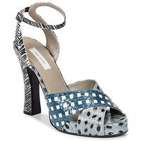 Scarpe Donna Sandali Marc Jacobs Elap Blu / Bianco