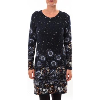 Abbigliamento Donna Abiti corti Barcelona Moda Robe pull 71565003 marine Blu