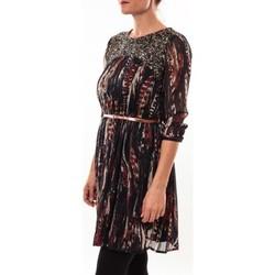 Abbigliamento Donna Abiti corti Barcelona Moda Robe 71525014 noir Nero