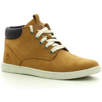 Scarpe Bambino Sneakers alte Timberland Grvtn Ek Ltr Chk Whe Wheat