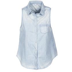 Abbigliamento Donna Camicie maniche corte Pepe jeans POCHI Blu