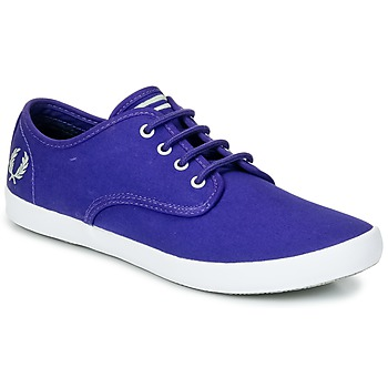 Scarpe Uomo Sneakers basse Fred Perry FOXX TWILL Viola