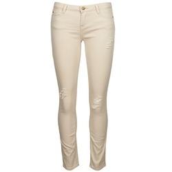 Abbigliamento Donna Jeans slim Acquaverde SCARLETT Beige