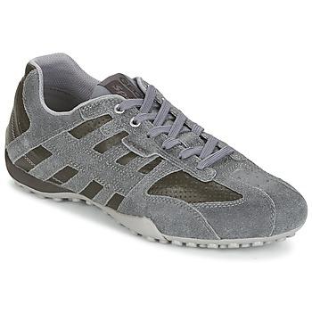 Scarpe Uomo Sneakers basse Geox SNAKE K Grigio / Marrone