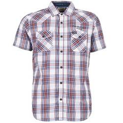 Abbigliamento Uomo Camicie maniche corte Petrol Industries SHIRT SS Bianco / Rosso