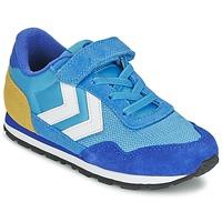 Scarpe Bambino Sneakers basse Hummel REFLEX JR Blu
