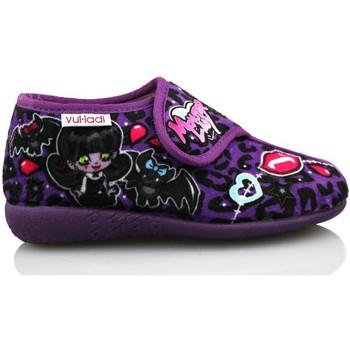 Scarpe Bambina Pantofole Vulladi ALASKA DE IR POR CASA MORADO