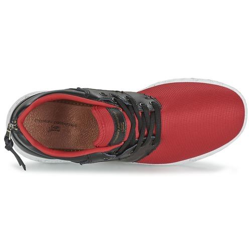 Sixth Basse Consegna June Hell 3500 F RossoNero Gratuita Donna Scarpe Sneakers Dnr vwmNO80n