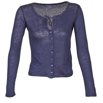 Abbigliamento Donna Gilet / Cardigan Majestic BATHILDE Blu