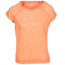 Abbigliamento Donna T-shirt maniche corte Majestic 2105 Arancio / Fluo