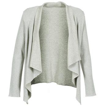 Abbigliamento Donna Gilet / Cardigan Majestic 4003 Grigio