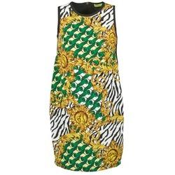 Abbigliamento Donna Abiti corti Versace Jeans NDM909 BIS Nero / Multicolore