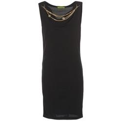 Abbigliamento Donna Abiti corti Versace Jeans NDM931 Nero