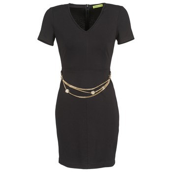 Abbigliamento Donna Abiti corti Versace Jeans NDM911 EASY Nero