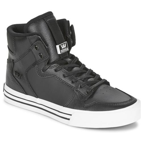 Supra VAIDER CLASSIC Nero / Bianco  Scarpe Sneakers alte  88