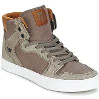 Scarpe Sneakers alte Supra VAIDER Marrone