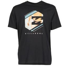 Abbigliamento Uomo T-shirt maniche corte Billabong HEXAG SS Nero