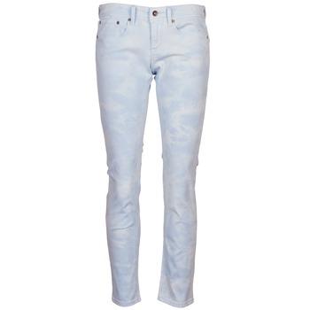 Abbigliamento Donna Pantaloni 5 tasche Roxy SUNTRIPPERS TIE-DYE Blu