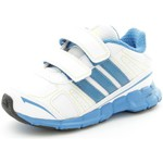 Sneakers basse adidas Originals G62433 Scarpe Sportive Bambino unisex Eco-pelle  Blanc/Ble