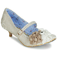 Scarpe Donna Décolleté Irregular Choice DAISY DAYZ Beige / Multicolore