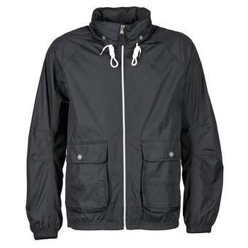 Abbigliamento Uomo giacca a vento Timberland FRANKLIN HOODED JACKET Nero