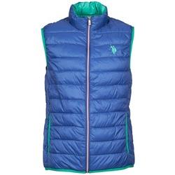Abbigliamento Uomo Piumini U.S Polo Assn. USPA LT PADDED VEST Blu