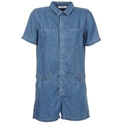 Abbigliamento Donna Tuta jumpsuit / Salopette Teddy Smith CALINCA DENIM LYOCELL Blu