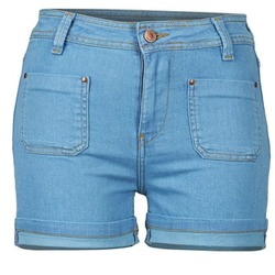 Abbigliamento Donna Shorts / Bermuda School Rag SUN Blu / Medium