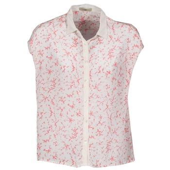 Abbigliamento Donna Camicie maniche corte Lola CANYON Bianco / Rosso