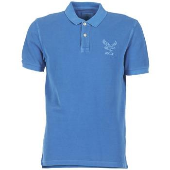 Abbigliamento Uomo Polo maniche corte Aigle BELAQUA Blu