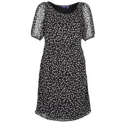 Abbigliamento Donna Abiti corti Mexx 13LW130 Nero / Bianco