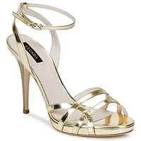Scarpe Donna Sandali Escada AS683 Oro