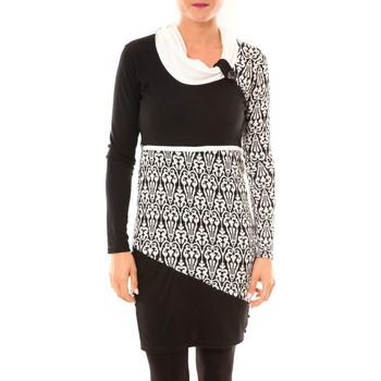 Abbigliamento Donna Abiti corti Bamboo's Fashion Robe Zoulou BW616 blanc Bianco