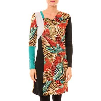 Abbigliamento Donna Abiti corti Bamboo's Fashion Robe Sauvage BW620 noir Nero