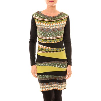 Abbigliamento Donna Abiti corti Bamboo's Fashion Robe BW671 vert Verde