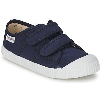Scarpe Unisex bambino Sneakers basse Victoria BLUCHER LONA DOS VELCROS Marine