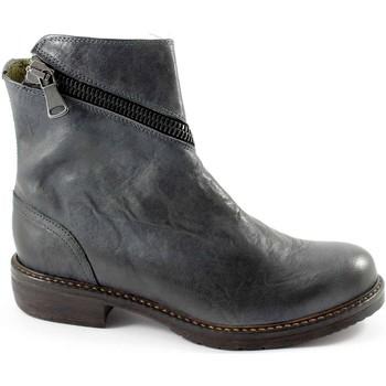 Stivaletti J.p. david  32525 grigio scarpe donna stivaletti tronchetti apertura zip