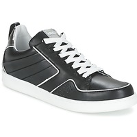 Scarpe Donna Sneakers basse Kenzo K-FLY Nero / Argento