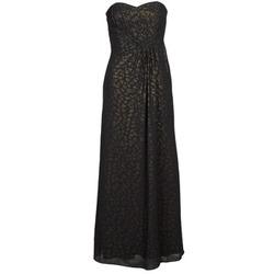 Abbigliamento Donna Abiti lunghi Manoukian 612930 Nero / Oro