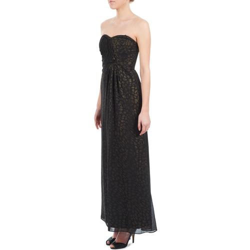 Abbigliamento Gratuita Lunghi Manoukian Abiti NeroOro 6760 Donna Consegna 612930 AL3j5R4