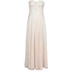 Abbigliamento Donna Abiti lunghi Manoukian 613346 Rosa / Beige